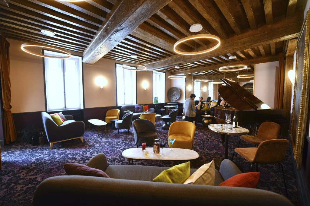 Salon lounge Le Central