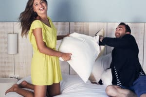 Central Boutique Hotel pillow fight